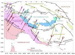 World Plate Boundaries Map by Panguna Papua New Guinea Subduction Zone Earthquake Jay Patton