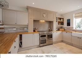 light oak shaker kitchen cabinets shaker style hd stock images