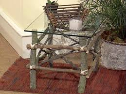 Homemade Garden Box by How To Make Twig Furniture Hgtv