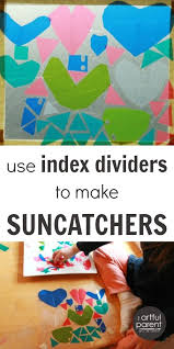 Kids Stained Glass Craft - 120 best suncatcher crafts kids can make images on pinterest