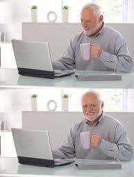 Old Man Meme - old man cup of coffee blank template imgflip