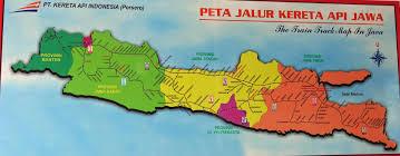 Map Of Jakarta Train Travel In Indonesia Trains Jakarta Surabaya Ferry To Bali