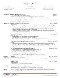 First Job Resume Ideas by Resume Samples For Campus Interview Free Resume Example And