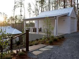 anchored top property sloped backyard garage bestofhouse net