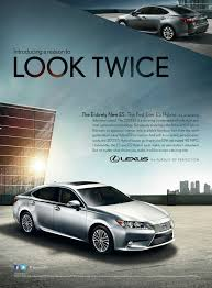 lexus hoverboard advert lexus encourages consumers to look twice at its all new 2013 es