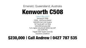 kenwood truck for sale used kenworth truck for sale youtube