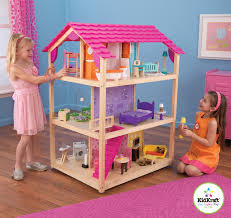 kidkraft so chic doll u0027s house with 50 pieces of furniture toys