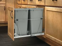 kitchen trash can cabinet diy kitchen trash can cabinet a tilt out