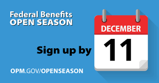 federal benefits open season begins the opm director s