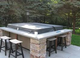 Patio Ideas For Small Backyards Best 25 Hot Tub Deck Ideas On Pinterest Hot Tub Patio Garden