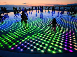 led light installation near me croatia s solar powered interactive light installation light
