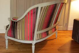 canape tissu rayures côté sièges tapissier à brest restauration ameublement page 15