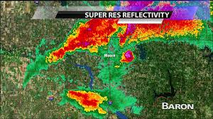 Severe Weather Map Baron Severe Weather Data During The Moore Ok Tornado Youtube