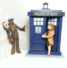 dr who wedding cake topper realistic cake topper with large props thatlittlenook