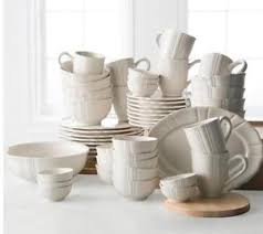 jcpenney home scalloped stoneware 50 pc dinnerware set