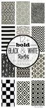 Black And White Chevron Rug Where To Buy Bold Black And White Rugs