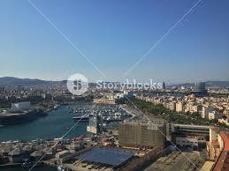 barcelona city view barcelona city view royalty free stock image storyblocks