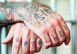 6 prison tattoos u0026 what they mean phactual