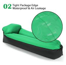 ogl 3rd inflatable lazy air sofa bed indoor outdoor lounge pillow