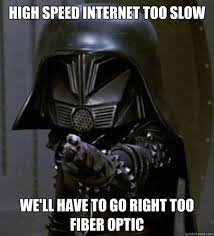 Internet Speed Meme - darth helmet ludicrous speed memes quickmeme