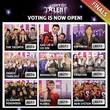 fb vote now asia got talent voting for the first ever winner of asia s got talent closes 11