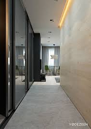 small bathroom design ideas hallway with floor to ceiling mirrors