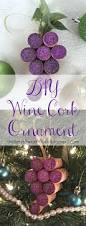 diy wine cork holiday christmas ornament i love christmas