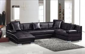 Dobson Sectional Sofa Sofas Center 40 Shocking Black Leather Sectional Sofa Photos