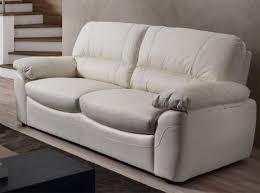 canape cuir pleine fleur 3 places canapé en cuir blanc canap convertible 3 places en cuir blanc