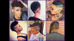 haircuts at the barbershop women african american 50 best mohawk haircuts for african american women trendy