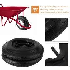 chambre air brouette ensemble de pneu de brouette chambre à air de pneu 3 50 4 00 8 38