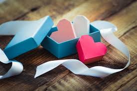 heart shaped items ribbons and a box of heart shaped items 52764 wedding flowers