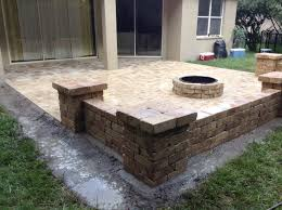 Build Paver Patio Paver Patio Pit Designs Home Depot Insert How To Build A On