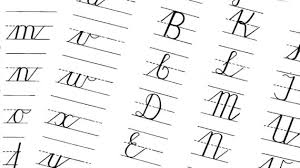 cursive letters a z copy and paste texting letters and symbols
