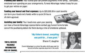 funeral advantage expense insurance by golden memorial insurance services by