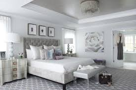 Small Bed Frame Susan Decoration by Gray And Silver Bedroom With Gray Tray Ceiling Contemporary