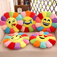 kitchen emoji smile pillow emoji chair cushions for kitchen chairs cojines