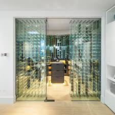 wine decor ideas wine cellar contemporary with wine storage glass