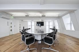 attractive modern office room ideas with luxury work desk design
