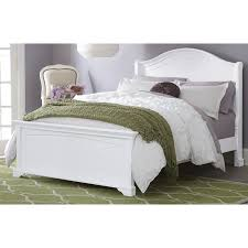 ne kids walnut street morgan platform bed white hayneedle