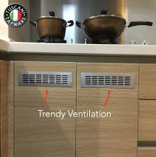 kitchen sink cabinet vent solution for condensation kitchen sink tuscani italy