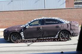 future ford taurus 2016 ford taurus prototype spied in detroit