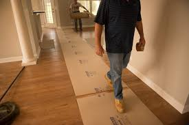 water resistant hardboard floor protection
