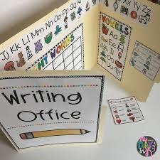 best 25 writing center kindergarten ideas on pinterest