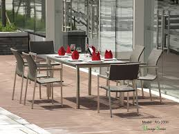 Best Price Patio Furniture by Best Price Outdoor Bamboo Table And Chair Furniture Dining Set