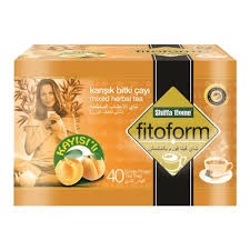 Teh Adas berat badan teh aprikot flavour fitoform phytoform adas buah