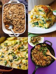 8 vegetarian thanksgiving casserole recipes live eat learn