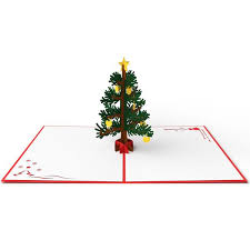 pop up christmas cards 3d christmas tree pop up card lovepop
