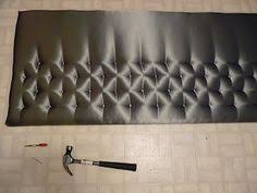 how to make a headboard this one looks a bit cushier make your