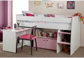 chambre combiné fille lit avec bureau integre mezzanine pour combine fille lilou evolutif